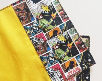 Set two Star Wars-themed place mats