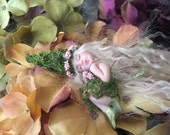 Forest Fairy, Miniature Fairy Sculpture, Fairy Minature, Fairy Figurines, Pixie