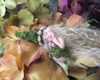 Forest Fairy, Miniature Fairy Sculpture, Fairy Miniature, Fairy Figurines, Pixie