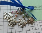 Little Sheep - set of 4 stitch markers