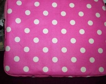 Pink Dotty iPad Case