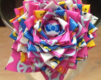 Duct Tape Rose Pen #8C Hello Kitty Peace