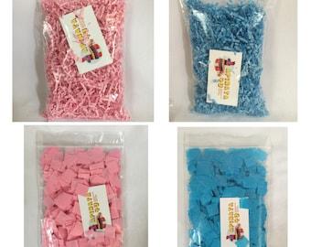 Hand-Cut Confetti Shredded Confetti