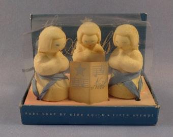 Kerk Guild Fifth Avenue Trio of Soap Angels