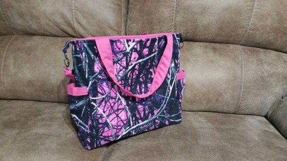 Ready To Ship Muddy Girl Camo Bag Muddy Girl Diaper Bag Pink