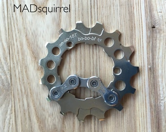 Bicycle, Bike Sprocket and Chain Bottle opener