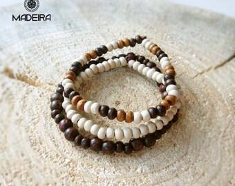 Ethnic wooden bracelet beads, hippies bracelets, Baubles, men's bracelets