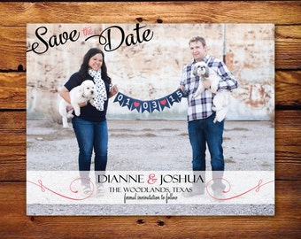 Custom Photo Save the Date