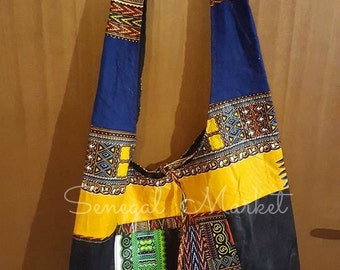 njakhass shoulder strap in wax