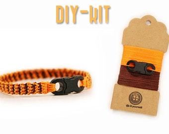 DIY gift for him - DIY jewelry - diy bracelet for men - diy kit - DIY gift - crochet Kit - diy mens gift - diy gift ideas - MudenoMade