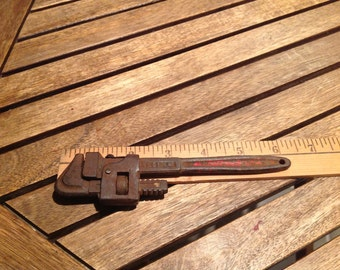 Old German Pipe Wrench