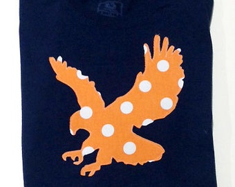 Long Sleeve Auburn War Eagle Applique T Shirt, War Eagle, Tigers, Game Day Shirt