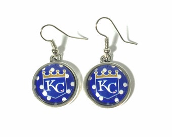Round Dangle Royals Earrings