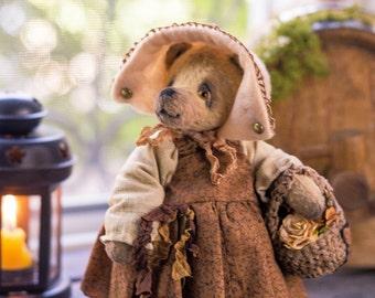 Bear Dora - OOAK Teddy Bear