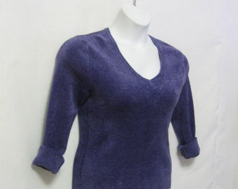 Velour sweater | Etsy