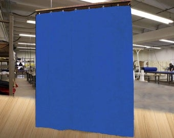 """Special Color Economy Stage Curtain/Backdrop/Partition, 8'H x 4'6""""W, Non-FR, Free Shipping!"""