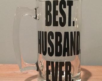 Best Husband Ever Beer Pilsner | Beer Mug Glass