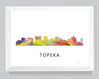 Topeka Skyline Etsy