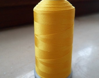 Madeira machine embroidery thread yellow 1971