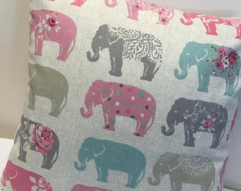 Elephant Cushion, Elephant Design, Elephant, Cushion