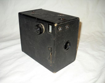 Antique Box Camera, Buster Brown, Brownie, Kodak, Ansco, Working Condition