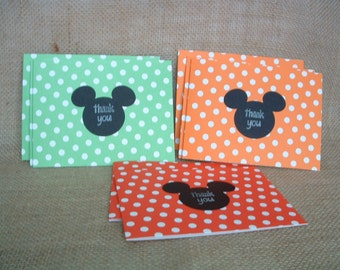 Mickey Mouse Set of 8 Blank Notecards