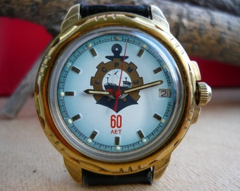 Limited edition Vostok Komandirskie Vintage wostok wrist watch / men's watch Vostok / military Soviet watch / Mechanical watch