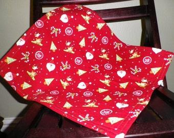 SALE - American Girl Christmas Blanket