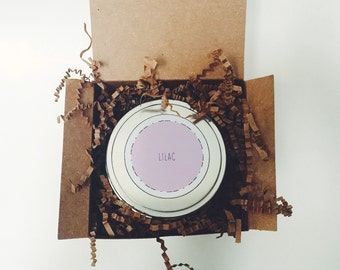 8 oz Lilac Soy Candle