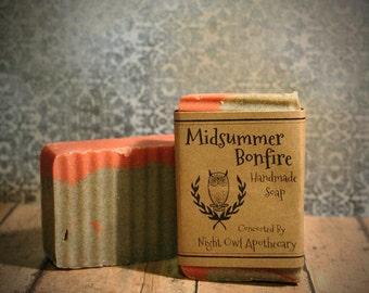 Midsummer Bonfire Handmade Soap
