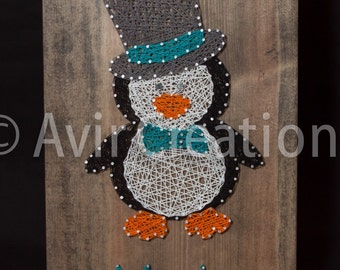 Custom Animal String Art Board
