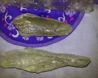 Green Amethyst Blades