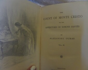 Count of Monte Cristo by Alexandre Dumas VOl 2, VOls 3 and 4