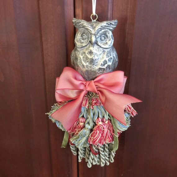 Large Tassels Home Decor: Large Owl Tassel Nursery Decor Home Decor Women's Gift