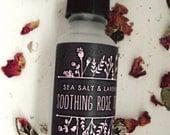 Organic Soothing Rose Toner. Vegan. Alcohol-Free. Sensitive Skin. Moisturizing. Bath & Body. 100% Natural. Gift. Valentines Day. Love. Rose