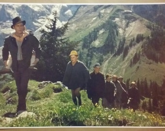 """The Sound of Music FULL SIZE 36"""" x 24"""" Poster Print Julie Andrews Maria Gift Girlfriend Von Trapp Family Alps Escape"""
