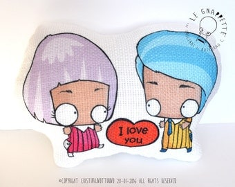 Pillow San Valentine