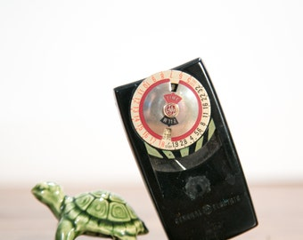 GE Mascot Light Meter with  Case - Functional!
