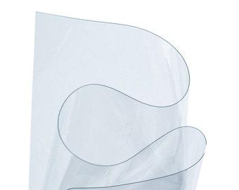 Clear vinyl / PVC material