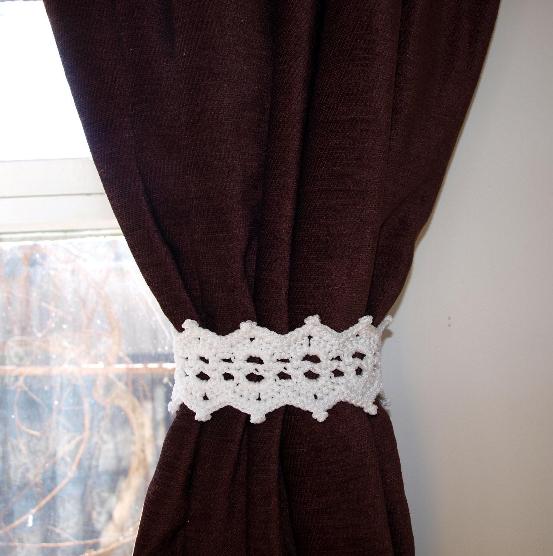 Fabric curtain tie backs -  Zoom