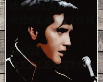 Elvis Presley Poster - Elvis Presley Print, Art Print, instant download, digital Print, digital poster, poster