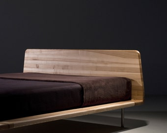 MAZZIVO Exclusive bed LETTO/ OUTLET/ 140 x 200/ Solid Alder / list price 1499,-