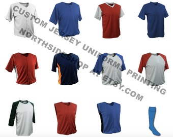 Custom printing baseball, basketball , football , soccer , volleyball jersey uniforms