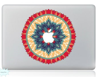 New Colorful Leaves Decal Mac Stickers Macbook Decals Macbook Stickers Apple Decal Mac Decal Stickers Laptop Decal 07