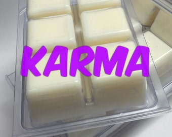 KARMA *Lush Inspired* Premium Soy Wax Melts | Pack of 6 | Highly Scented Wax Melts | Vegan | 100% Made in U.S.A. | Eco-Friendly