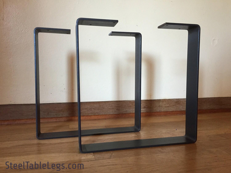 🔎zoom - Metal Bench Legs / Metal Coffee Table Legs 90 Handmade In