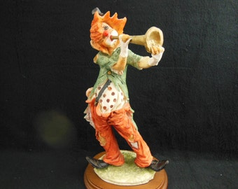 Clown With a Horn Signed By ??