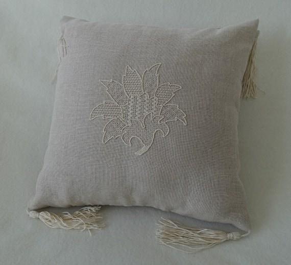 Fallen leaf whitework embroidery from jenniferstrangeltd