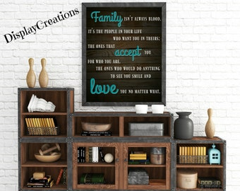 "Personalized ""Family"" Wall Art"