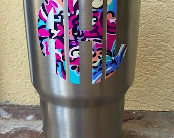 Lily Pulitzer Inspired Yeti Decal